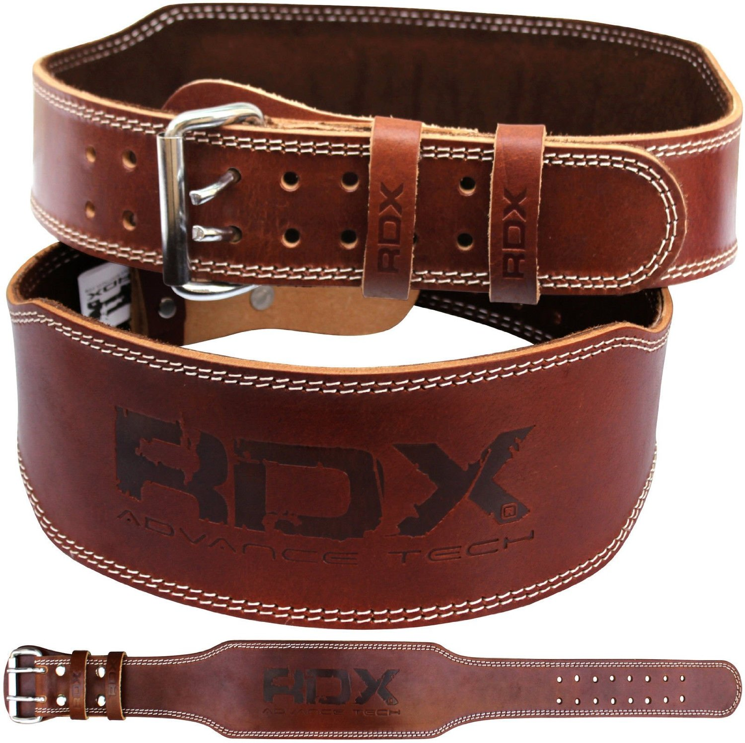 Weight Lifting Belt 4 Quot Leather Padded Gearbag