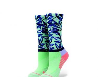 Stance Athletic Fusion – Womens Mint Tree Crew