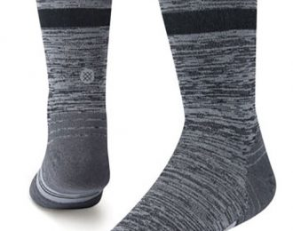 Stance Run – Mens Uncommon Solid Charcoal